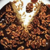 Caramel-Walnut Upside-down Banana Cake