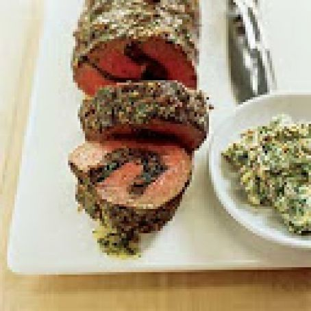 Stuffed Roast Beef Tenderlion