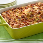 Turkey Sausage & Pepper Breakfast Casserole