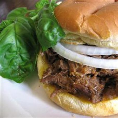 Yummy Hot Beef Sandwiches