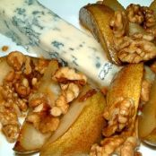 Marsala Honey Pears with Gorgonzola