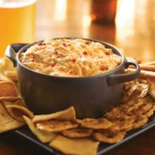 Baked Buffalo Chicken Dip with Frank's Red Hot