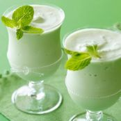 St. Patrick's Day Mint Schnapps Shakes