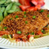 Crispy Crusted Red Snapper