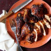 Spice-Rubbed Chicken with Duck Sauce