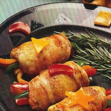 Sweet Pepper-Stuffed Chicken Breasts