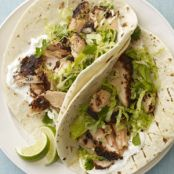 Blackened Salmon Soft Tacos