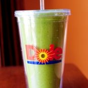Green Monster Spinach Smoothie!