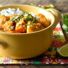 Coconut Chicken & Sweet Potato Stew