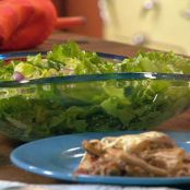 Rachel Ray's Whole Wheat Skillet Lasagna and Escarole Salad