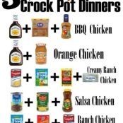 5 Chicken Crockpot Recipes