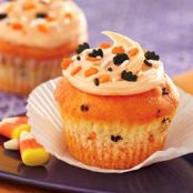 Funfetti Color Me Halloween Cupcakes
