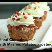Mini Meatloaf with Mashed Potatoes