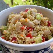 Quinoa White Bean Salad