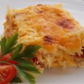 Potato, Egg & Biscuit Breakfast Casserole