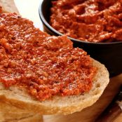 Roast Pepper Spread With Walnuts and Garlic