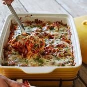 Sweet Potato Baked Ziti