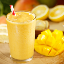Ginger Mango Carrot Smoothie