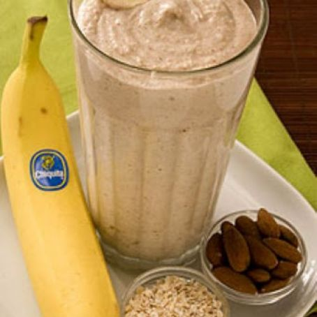 LC Banana Oatmeal Smoothie