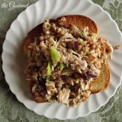 Tuna Salad w/ Buckwheat & Raisins