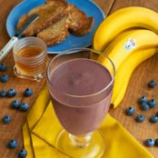 Banana & Blue Breakfast Smoothie