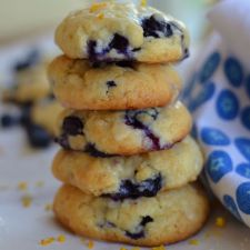 Blueberry Orange Cream Cheese Cookies