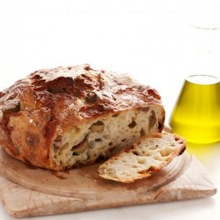 Olive and Cheese Loaf by Martha Bakes