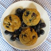 Grain Free Blueberry Lemon Muffins