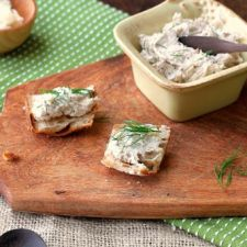 Smoked Fish Pâté with Horseradish and Dill
