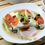FISH - Teochew-Style Steamed Cod