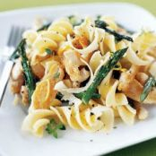 Fusilli with Chicken & Asparagus