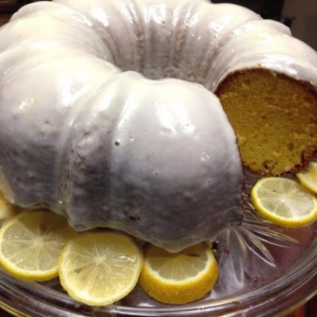 Kristi's Favorite Lemon Bundt Cake with Lemon Cream Cheese Icing