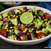 Avocado, Black Bean, & Corn Salad
