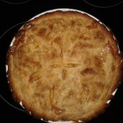 Peach Pie by Aunt Bee