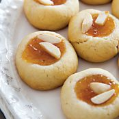 Lidia's Almond-Apricot Butter Cookies
