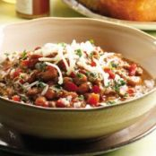 Beef & Bean Chile Verde - Eating Well
