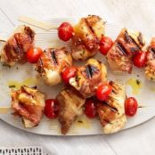 Prosciutto-Wrapped Chicken Kebabs