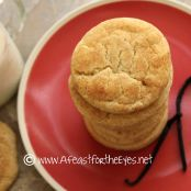 Vanilla Bean Snickerdoodles Recipe