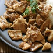 Thai Garlic Pepper Chicken