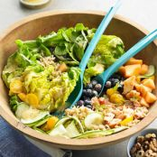 Grains & Fruit Summer Salad