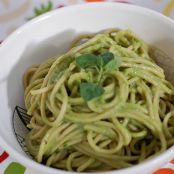 Easy Vegan Avocado Lemon Basil Pesto