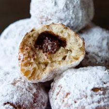Hazelnut Spread-Filled Sufganiyot