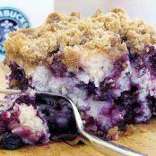 Blueberry Crumble Coffee Cake