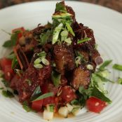 Sous Vide Thai Glazed Pork Ribs…