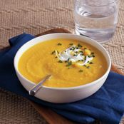 Butternut squash and Parsnip soup