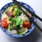 Hmong Beef with Tomatoes Stir Fry