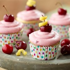 Cherry Sunshine Cupcakes