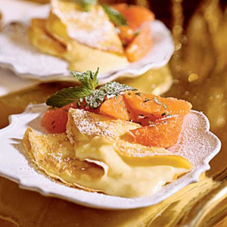 Florida Citrus Crepes