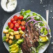 Black n' Blue Grilled Steak Salad Creme De La Crumb