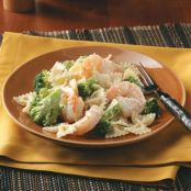 Caesar Shrimp and Pasta